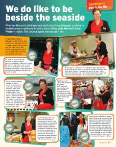 Sainsburys Magazine Feature